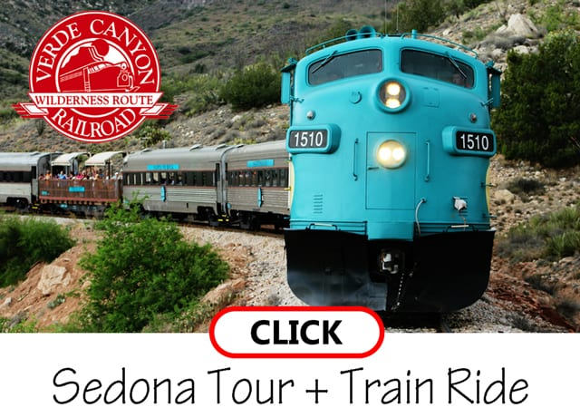 Sedona Tour with Verde Valley Railroad